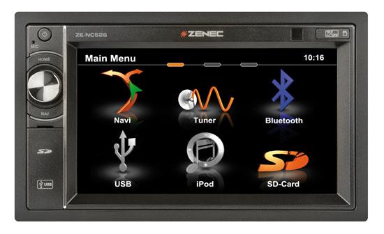 GPS ZENEC ZE-NC526